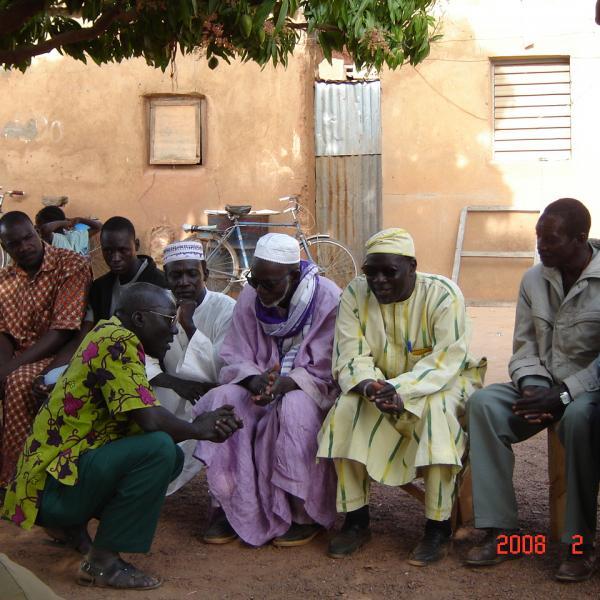 Mariage traditionnel (coté homme)