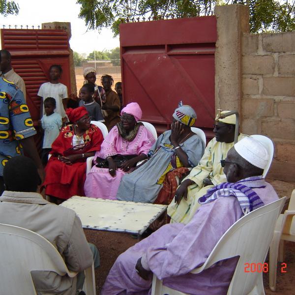 Mariage traditionnel (coté femme)